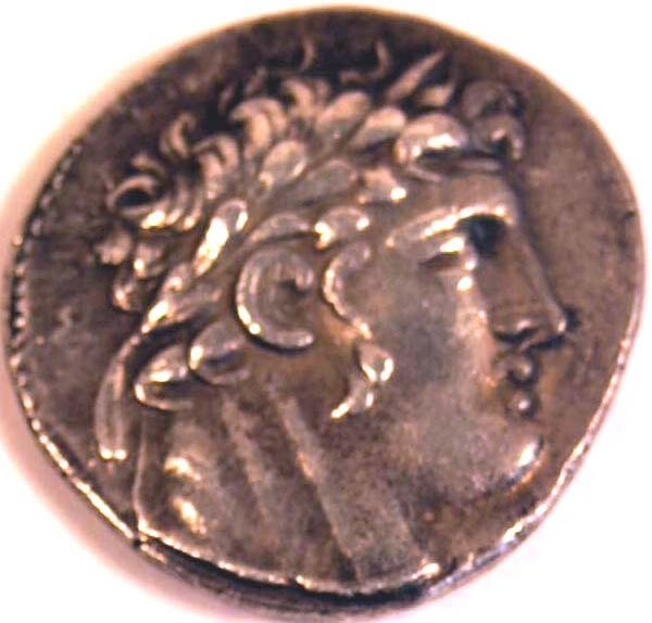 1002: PHOENICIA, Tyre (after 126BC) SHEKEL Ob