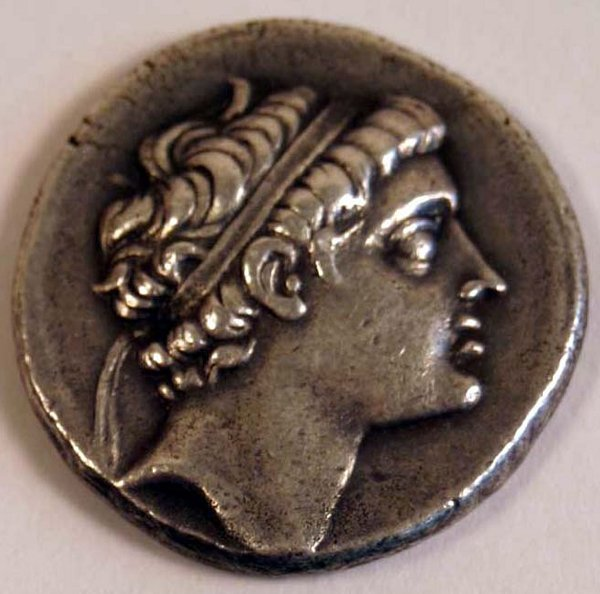 1004: SYRIA, Antiochos V (164-162BC)TETRADRAC