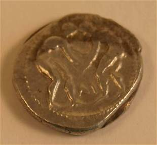 PAMPHYLIA, Aspendos (385-370BC) STATER.