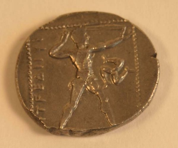 1006: PAMPHYLIA, Aspendos (385-370BC) STATER.