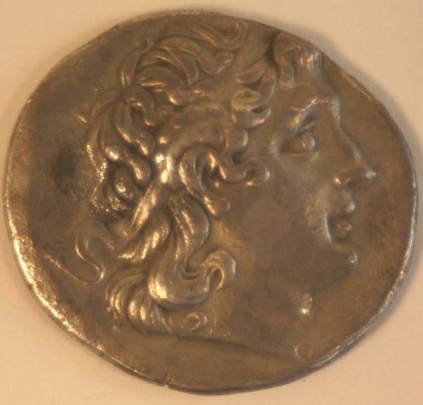 1011: THRACE, Lysimachos (297-281BC) TETRADAC