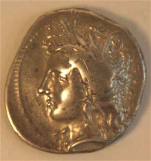 LUCANIA, Metapontion (350-300BC) STATER