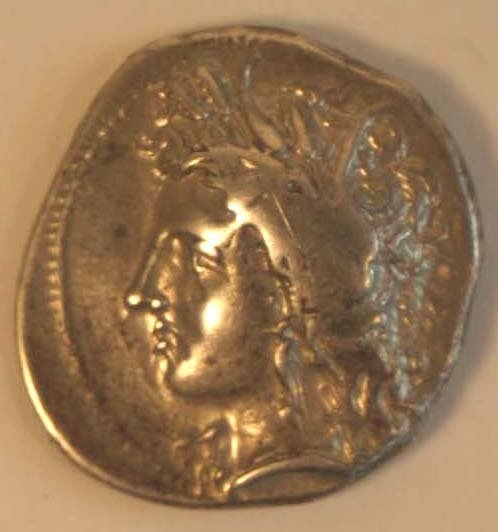 1013: LUCANIA, Metapontion (350-300BC) STATER