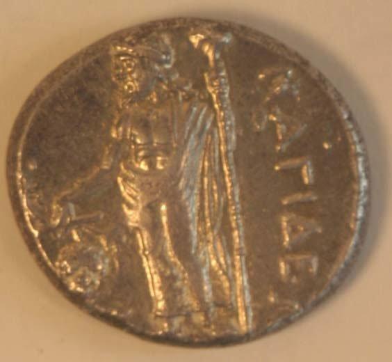 1014: CILICIA, Nagidos (374-356BC) STATER. Ob