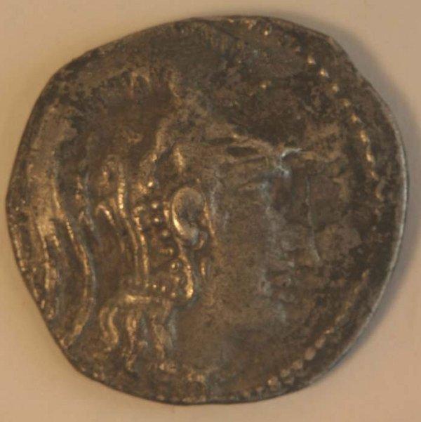 1016: ATTICA, Athens (166-57BC) TETRADACHM. O
