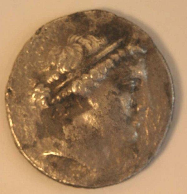 1021: AIOLIS, Kyme (2nd. c. BC) TETRADRACHM.