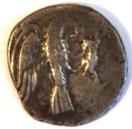 1022: ELIS, Olympia (271-191BC) DRACHM. Obv.