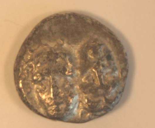 1023: THRACE, Istros (400-350BC) STATER. Obv.