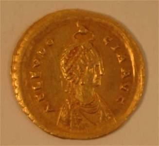 1096: EUDOCIA. SOLIDUS. Rev. Victory stg. lt.
