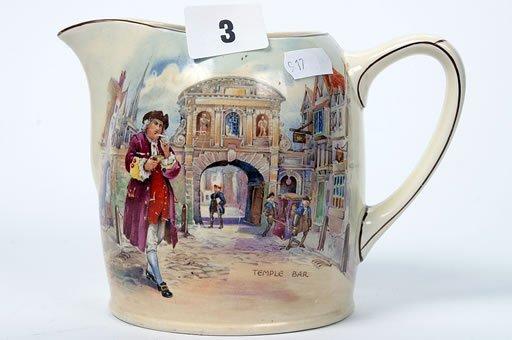 2003: Royal Doulton series ware jug, entitled