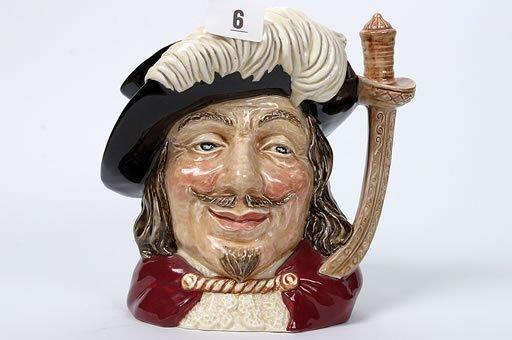 2006: Royal Doulton character jug of Porthos