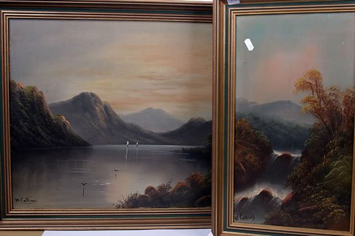 2012: Two oil paintings of highland scenes si