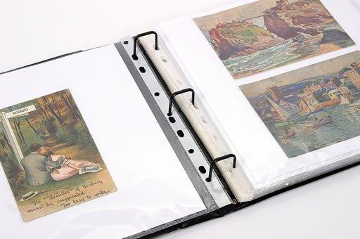 2023: Album of old postcards etc.