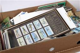 2276: Large box of postcards and other epheme