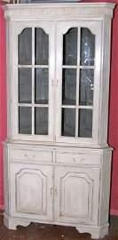 3001: 20c Georgian style corner cabinet