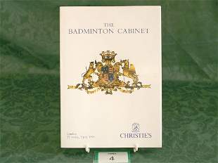 Christie's London 'The Badminton Cabinet'July 199