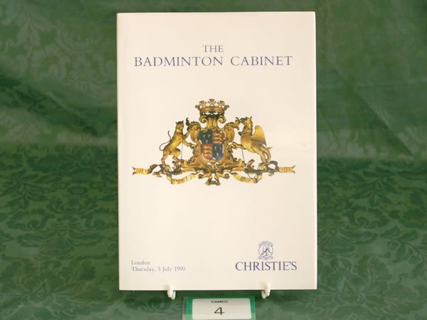 3004: Christie's London 'The Badminton Cabinet'July 199