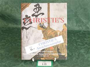 Christie's London 'Netsuke And Lacquer From The J