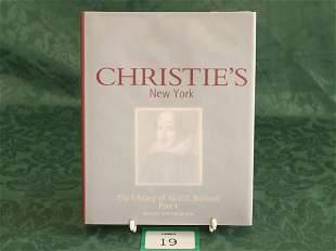Christie's New York 'The Library Of Abel E. Berla