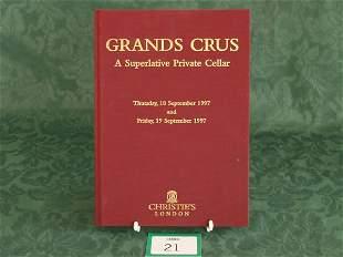 Christie's London 'Grands Crus A Superlative Priv