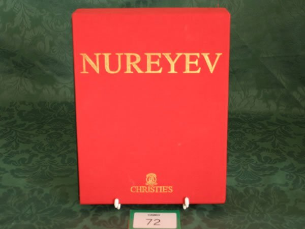 3072: Christie's New York/London 'Nureyev' part 1 and 2