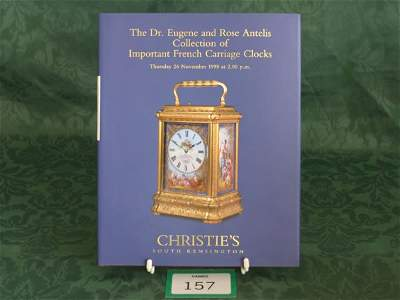 3157: Christie's South Kensington 'The Dr. Eugene And R