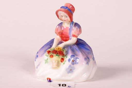 1010: Royal Doulton figurine of 'Monica' HN1467