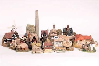 1427: Twenty-three David Winter cottages circa 1980