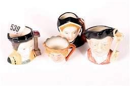 "1539: Two Royal Doulton miniature character mugs ""Jane"
