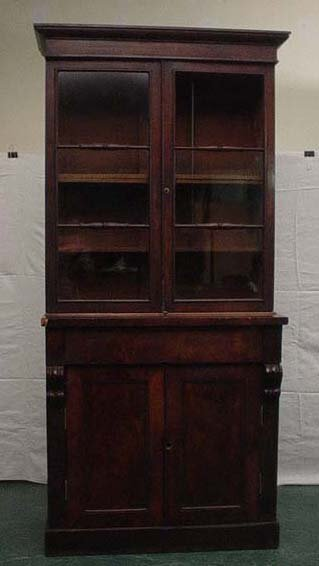 1608: Oak Ercol dresser with fitted two drawers, cupboa