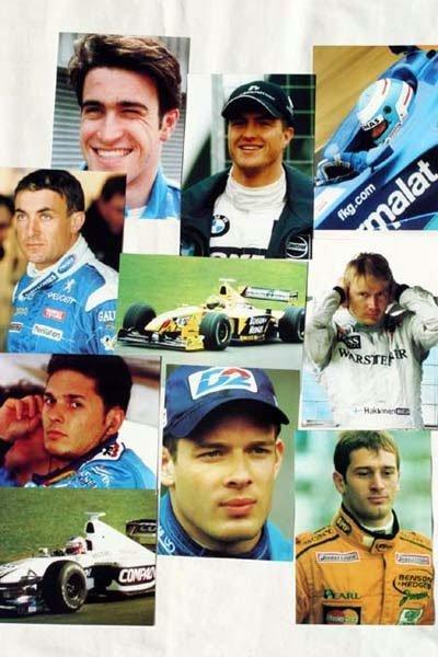 "2002: Group of 10 colour 6x4"" Formula One photos, vario"