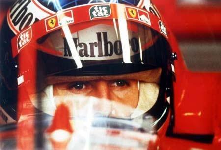 2004: Michael Schumacher Ferrari A4 colour photo unfram