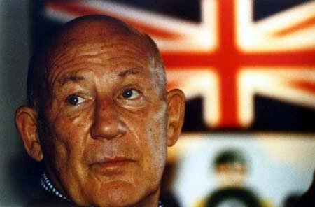 2006: Stirling Moss unframed A4 colour photo