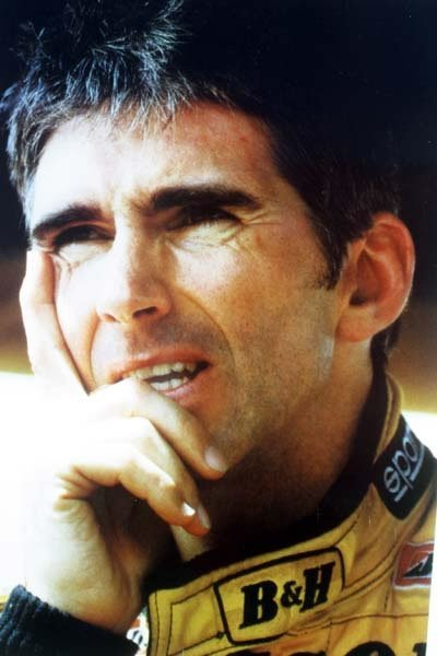 2009: Damon Hill unframed A4 portrait colour photo