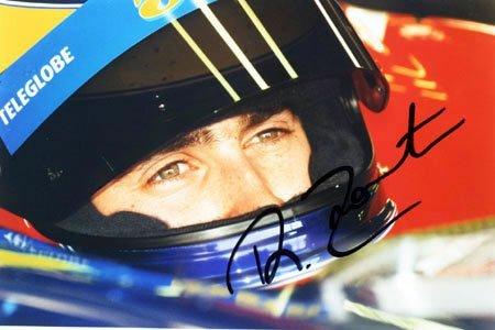 "2010: Ricardo Zonta signed colour photo 9x6"" unframed"