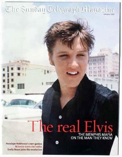 2016: Elvis Presley Sunday Telegraph colour magazine co