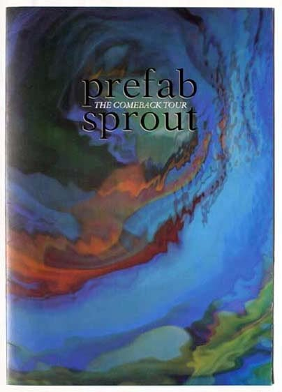 2019: Prefab Sprout Comeback Tour programme condition V