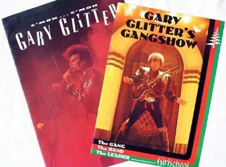2020: Gary Glitter  x 2 concert programmes condition go