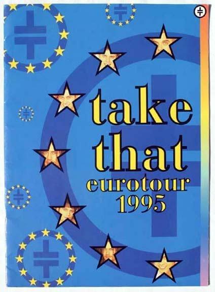2021: Take That Euro Tour 1995 concert programme condit