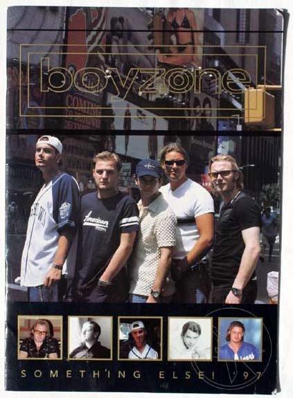 2022: Boyzone Something Else Tour 1997 condition good