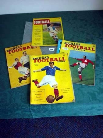 3508: Six copies of Charles Buchans Football Monthly, O
