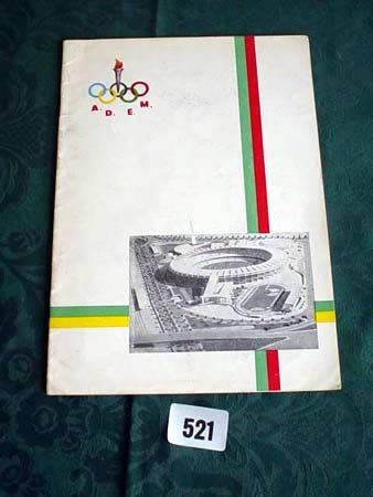 3521: Brazil v Portugal programme 1957