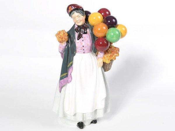 1003: Royal Doulton figure 'Biddy Pennyfarthing' HN1843
