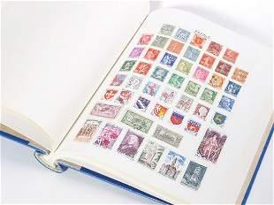 Stamford Major stamp album of world stamps