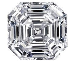 Asscher Diamond 1.01ct E color VVS2 clarity GIA Cert