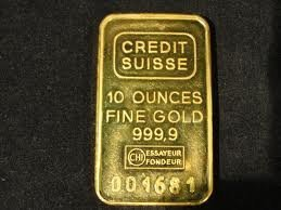 10 oz solid gold bar