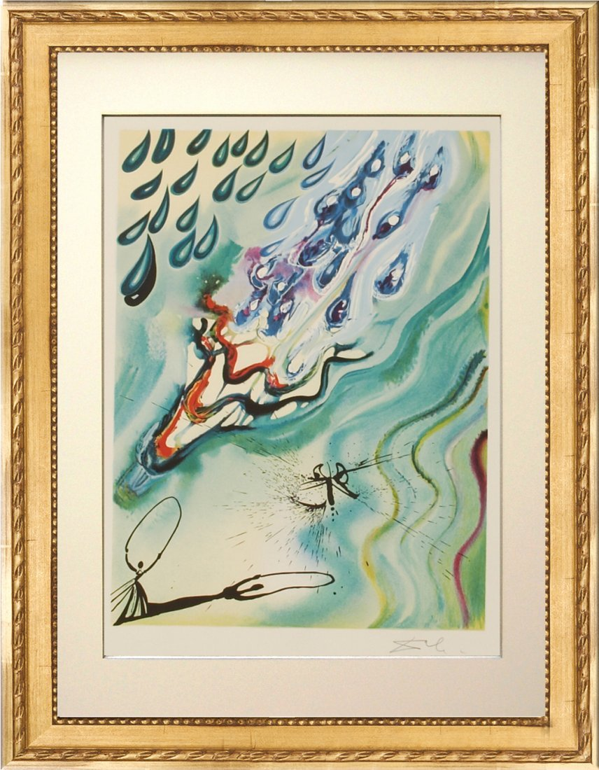 Pool of Tears by Salvador Dali