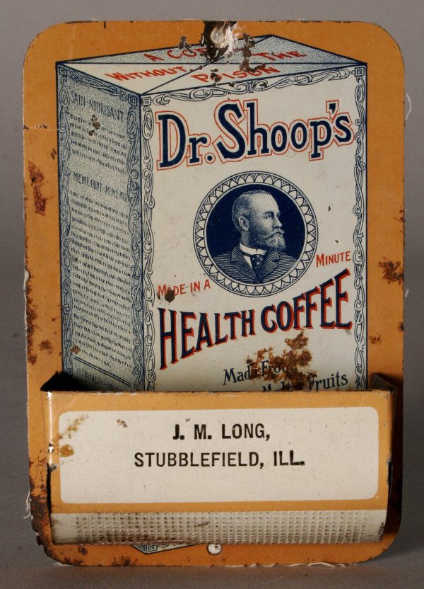 2004: Dr. Shoop's Match Box Health Coffee