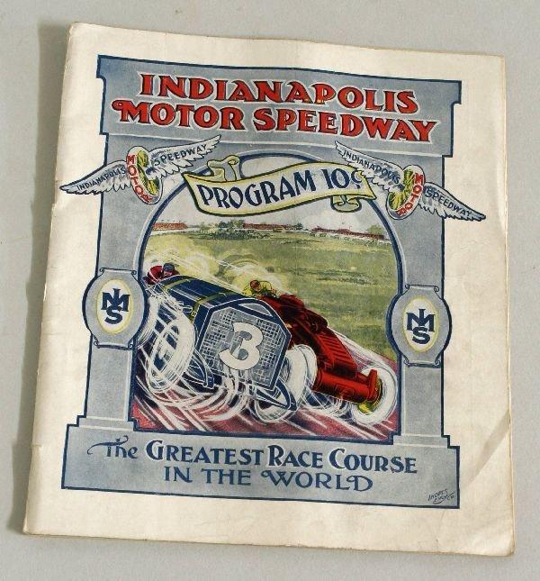2005: 1912 Indianapolis Motor Speedway Program