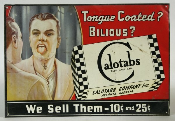 2006: Calotabs Advertising Sign